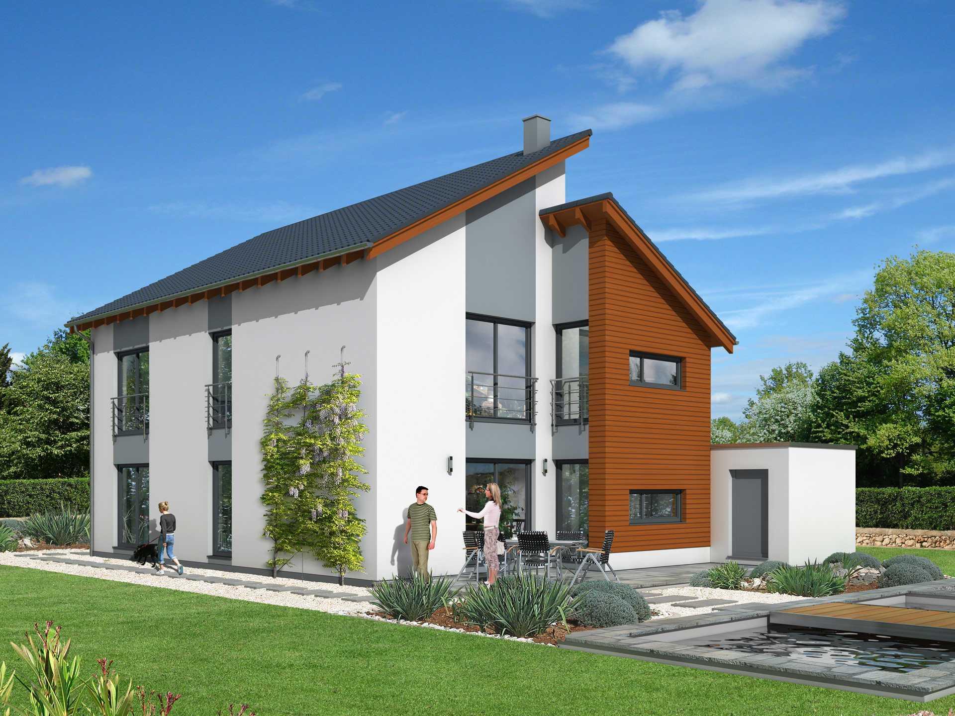 YTONG Bausatzhaus Illustration Haus 31