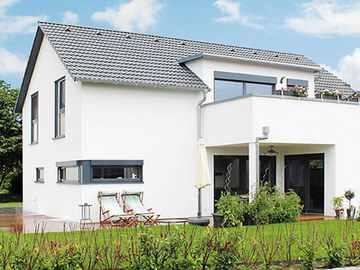 Lehner Holzhaus Musterhaus, Hausausstellung Fellbach