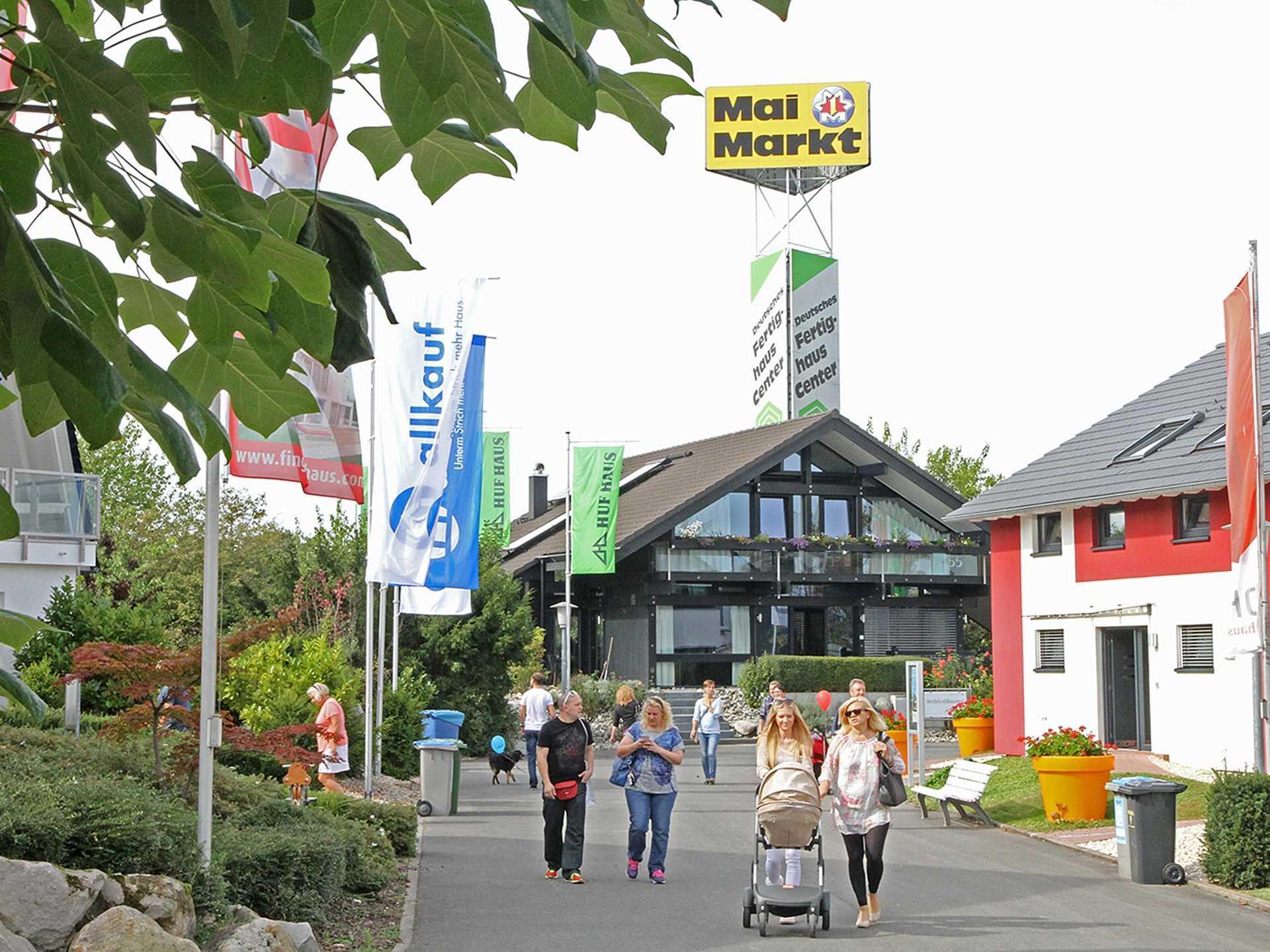 Baufirmen In Mannheim deutsches fertighaus center mannheim 2 jpg