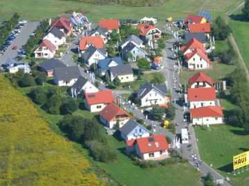 Musterhausausstellung Unger Dresden - Luftaufnahme